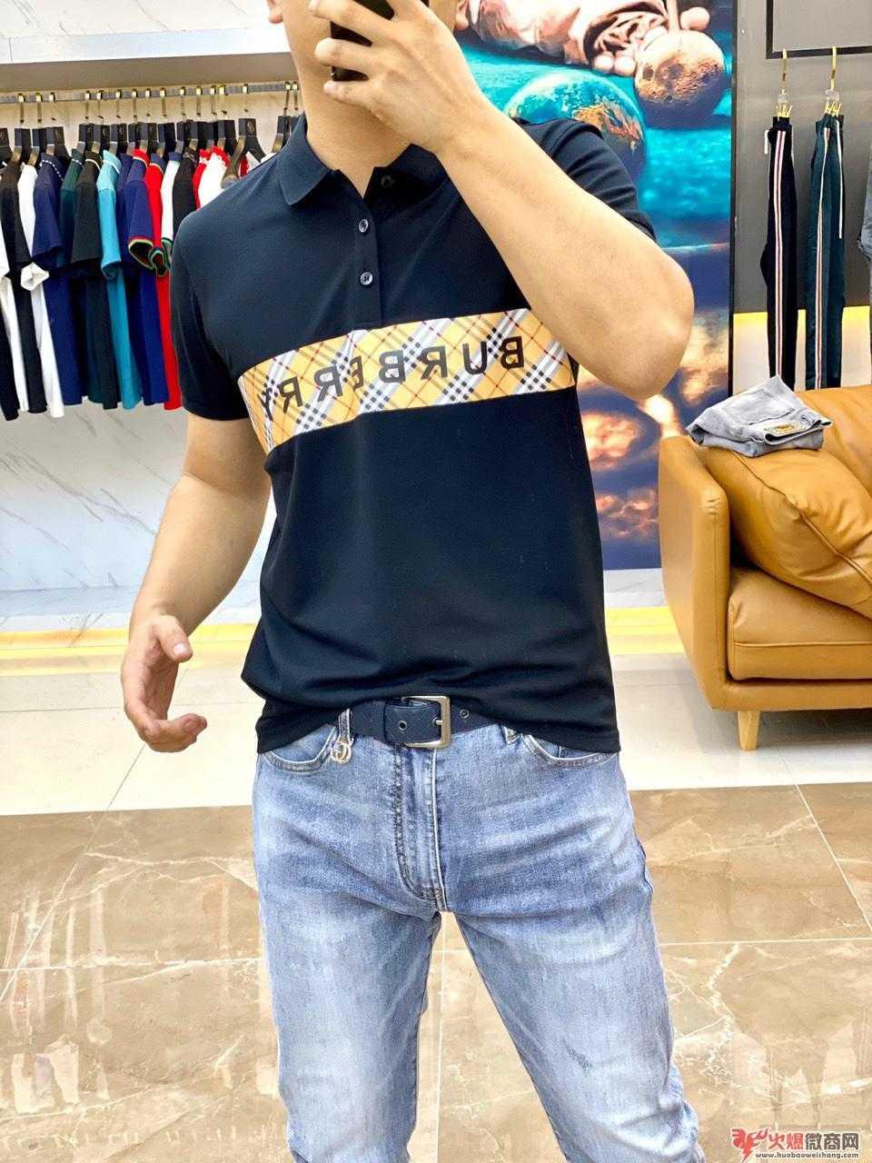 广州潮牌男装工厂批发 诚招代理 一件代发